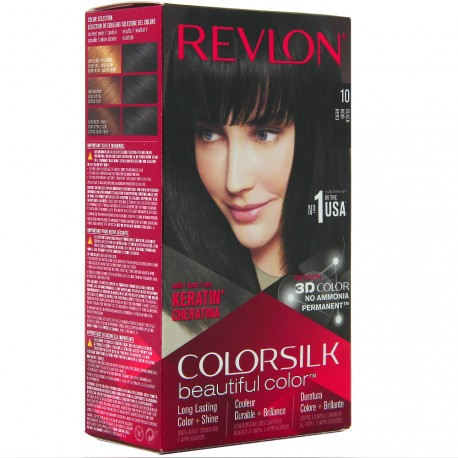 Revlon - Coloration Colorsilk n°10 Noir
