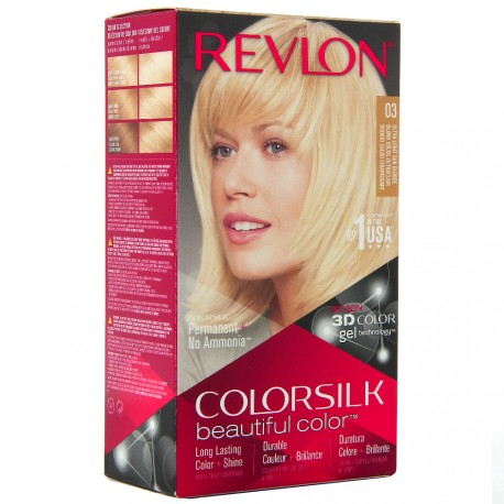 Revlon - Coloration Colorsilk n°03 Blond Soleil Ultraclair