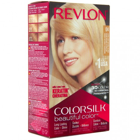 Revlon - Coloration Colorsilk n°04 Blond Naturel Ultraclair
