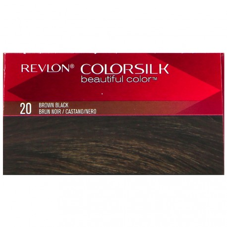 Revlon - Coloration Colorsilk n°20 Brun noir