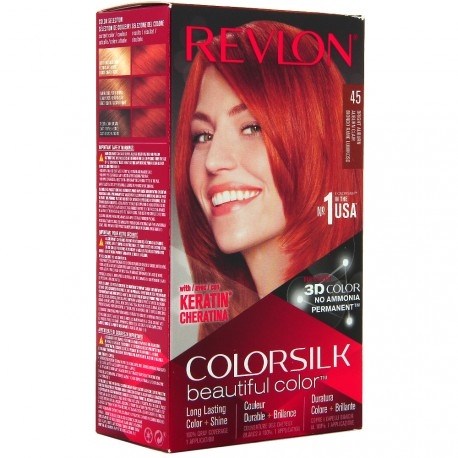 Revlon - Coloration Colorsilk n°45 Auburn Clair