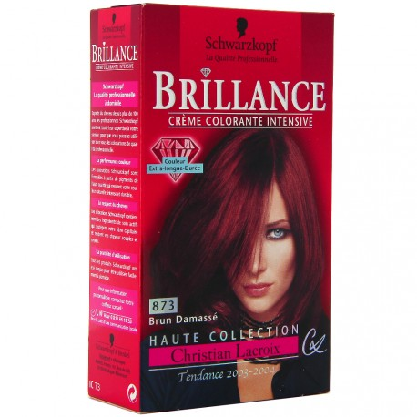 Schwarzkopf - Coloration Brillance 873 Brun Damassé
