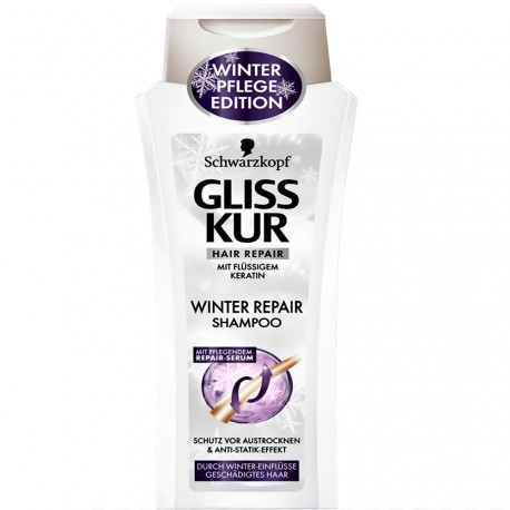 Schwarzkopf - Shampooing gliss kur Winter repair - 250ml