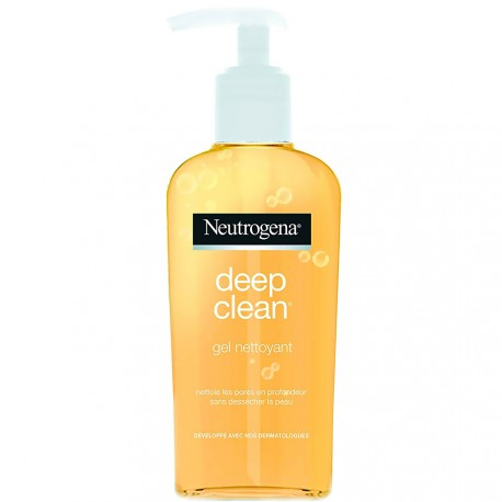 Neutrogena - Gel nettoyant Deep clean - 200ml