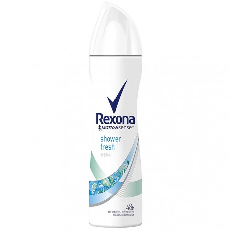 Rexona - déodorant Spray anti-transpirant 48h Shower fresh - 200ml