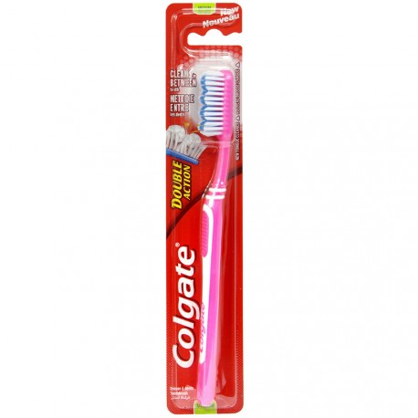 Colgate - Brosse à dents Double Action - Médium