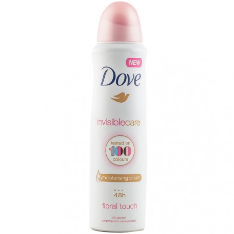 Dove - Déodorant spray Invisible Care 48h - 150ml