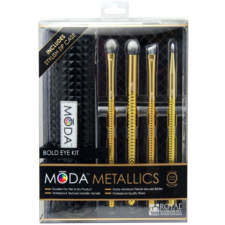 MODA - Set de Pinceaux Yeux Golden Dream - 5pcs