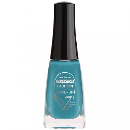Fashion Make-Up - Vernis à Ongles, Tentation n°0327 bleu canard - 11ml
