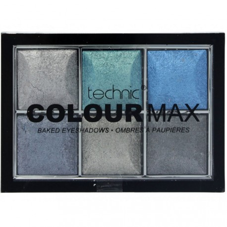 technic - Palette Colour Max 6 fards à paupières Rolling In It - 12g