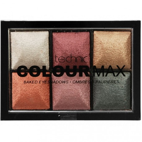 technic - Palette Colour Max 6 Fards à paupières Treasure Chest - 12g