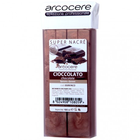 arcocere - Cire Roll on Chocolat Super Nacré - 100ml