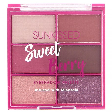 Sunkissed - Sweet Berry - Palette pour les yeux 6 couleurs - 6x2,8g