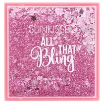 Sunkissed - All That Bling - Palette pour les yeux 16 couleurs - 16g
