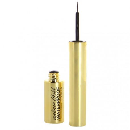 D'Donna - Eye liner Noir Waterproof Gold - 7g