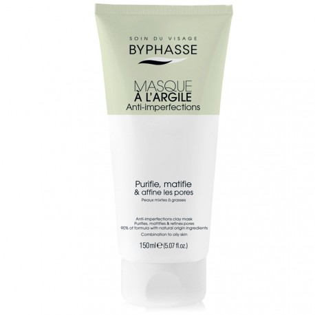 Byphasse - Masque visage à l'argile Anti-imperfections - 150ml