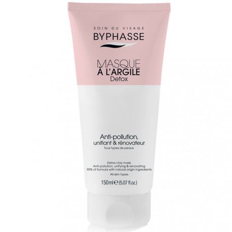 Byphasse - Masque visage à l'argile Detox - 150ml