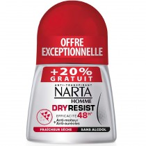 Narta Homme - Dry resist Déodorant Roll-on 48h - 50ml