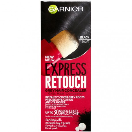 Garnier - Coloration Express retouch Noir - 10ml
