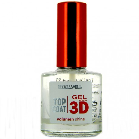 Leticia Well - Top Coat Gel Effet 3D - 13ml