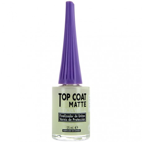 Leticia Well - Top Coat matifiant pour les ongles - 15ml