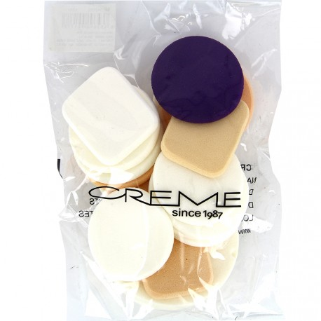 The Creme Shop - Lot 17 éponges maquillage