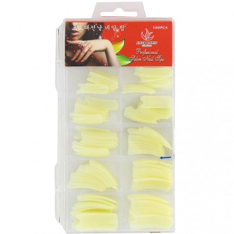 Easy Paris - Boîte de Faux ongles Naturel - 100pcs