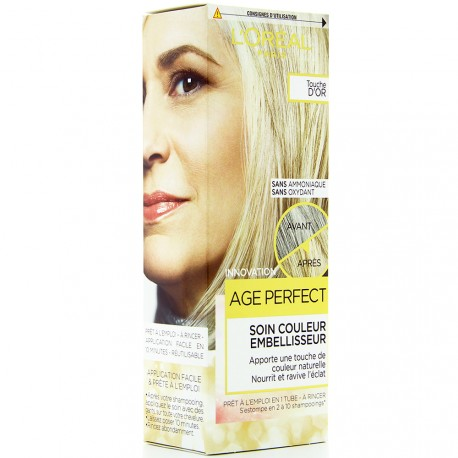 L'Oréal - Coloration Age Perfect Soin Couleur Embellisseur - Touche d'or