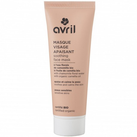 Avril - Masque Visage Apaisant Bio - 50ml