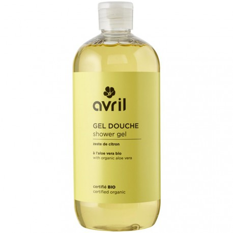 Avril - Gel douche Zeste de Citron - 500 ml - certifié bio