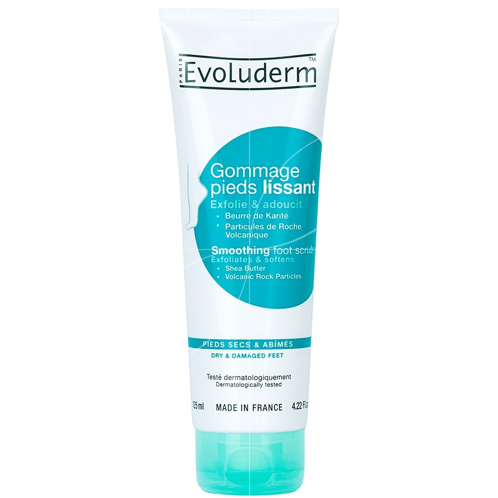 Evoluderm - Gommage Pieds Lissant - 125ml