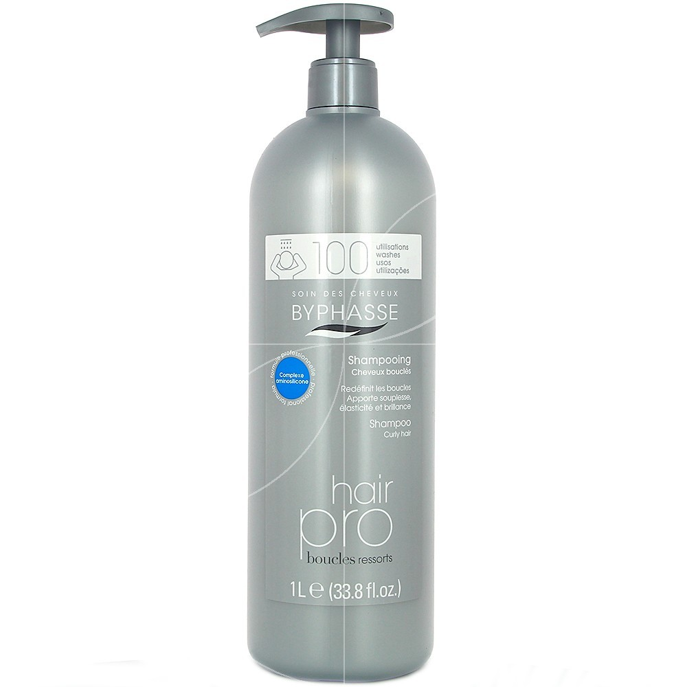 Byphasse - Shampooing Hair pro boucles ressorts - 1000ml