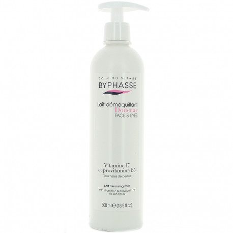 Byphasse - Lait démaquillant pompe - 500ml