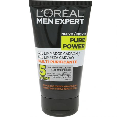 L'Oréal Men Expert - Pure Power gel nettoyant anti-imperfections - 150ml