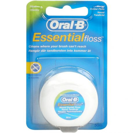 Oral-B - Fil dentaire Menthe 50m