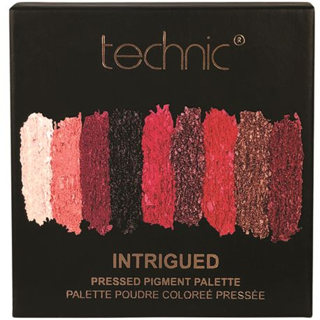 technic - Palette Intrigued 9 fards à paupières - 6,75g