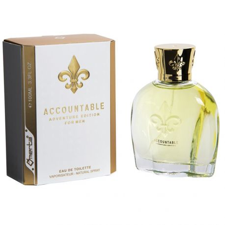 Omerta - Accountable adventure edition - Eau de toilette homme - 100ml