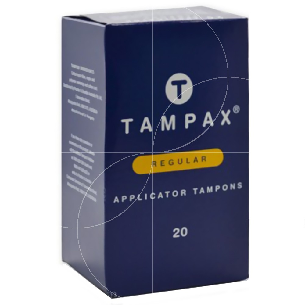 Tampax - 20 tampons hygiéniques