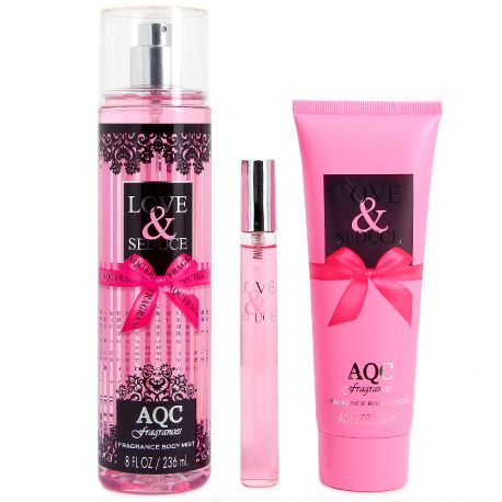 AQC fragrances - Coffret Love & Seduce
