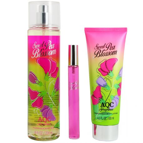 AQC fragrances - Coffret Sweet Pea Blossom