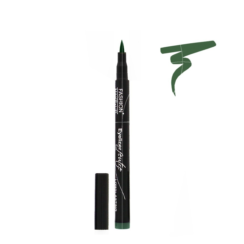 Fashion Make-Up - Eyeliner Feutre Longue Tenue 05 Vert