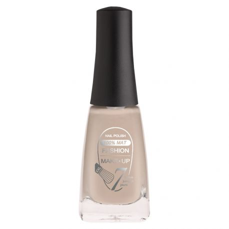 Fashion Make-Up - Vernis à ongles 100% mat n°01 beige - 11ml