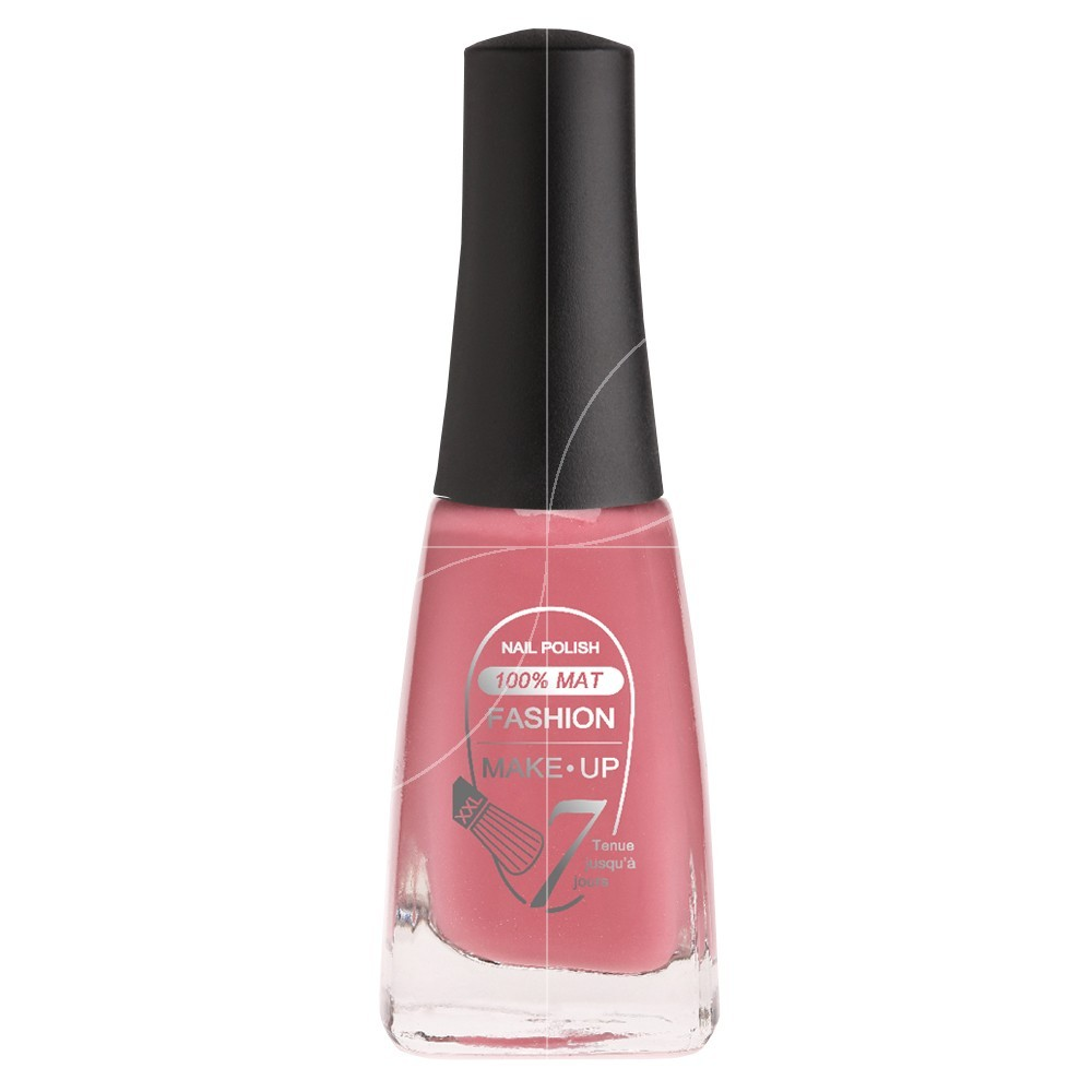 Fashion Make-Up - Vernis à ongles 100% mat n°05 Fushia nacré - 11ml