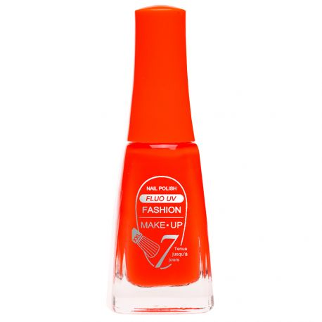 Fashion Make-Up - Vernis à ongles Fluo UV n°402 Corail fluo - 11ml