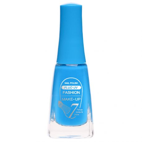 Fashion Make-Up - Vernis à ongles Fluo UV n°412 Bleu - 11ml