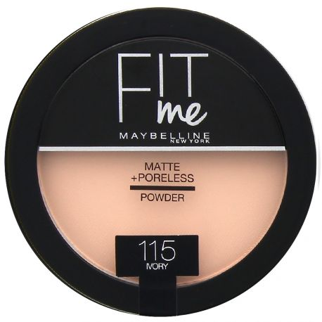 Maybelline - Fit me Poudre compacte Mat - 115 Ivory - 14g