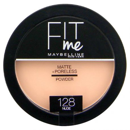 Maybelline - Fit me Poudre compacte Mat - 128 Nude - 14g