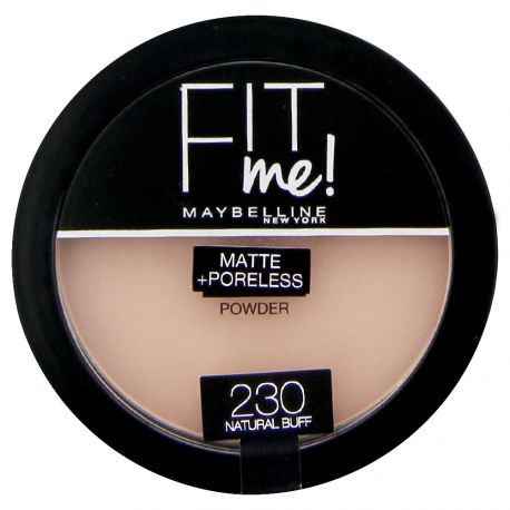 Maybelline - Fit me Poudre compacte Mat - 230 Natural buff - 14g
