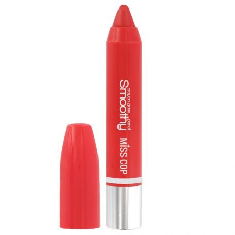 Miss Cop - Crayon Gloss Smoothy n°10 Rouge coquelicot - 3,5g