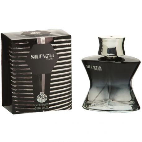 Real Time - Silenzia - Eau de toilette Homme 100ml